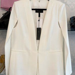 BCBG MAXAZRIA Off White Style#RND46818-101 Cape/Blazer/Jacket